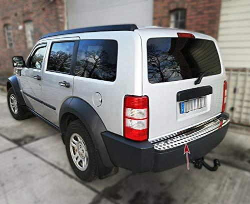 Recambo CT-LKS-1130 Protezione per paraurti in Acciaio Inox Cromato per Dodge Nitro   2005 – 2011   Design, Large
