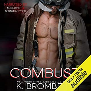 Combust audiobook cover art