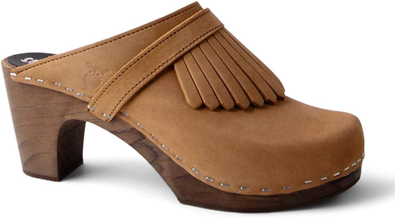 Sandgrens Swedish Handmade Wooden Clog Max 73% OFF Venice Superior Mule