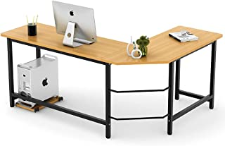 Tribesigns Modern L-Shaped Desk Corner Computer Desk PC Latop Study Table Workstation..