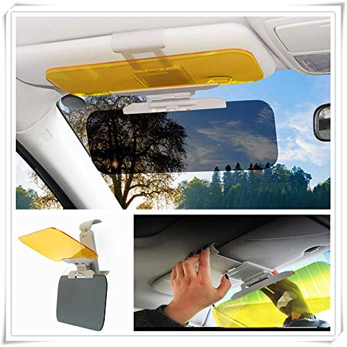 BYWWANG Per Renault Eolab Twizy Twin Z Twin Run Symbo, Visiera Parasole per Auto Anti Luce Solare Day Night Vision Driving Fold