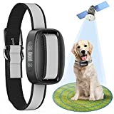 SOUYIE GPS Wireless Dog Fence System, Electric Dog Fence Accurate GPS Wireless Dog Training Collar with Rechargeable, Range Up to 3281 FT, Suitable for All Medium and Large Dogs