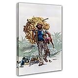 Bud Spencer - Banana Joe - Leinwand (60 x 80 cm)