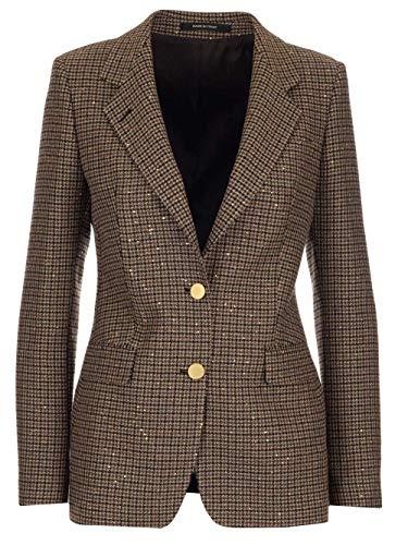 TAGLIATORE Luxury Fashion Damen JPARIGI12B77255EM756 Braun Baumwolle Blazer | Herbst Winter 20