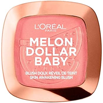 LOréal Paris Wake Up & Glow Melon Dollar Baby, Colorete, Tono Rosado: Amazon.es: Belleza
