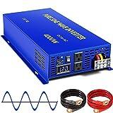 XYZ INVT 4000 Watt Pure Sine Wave Inverter 36V DC to 110V...