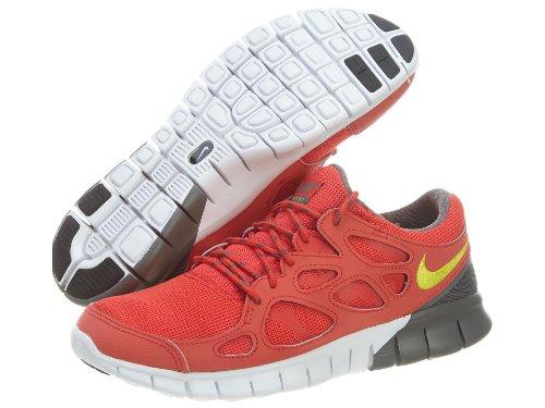 Nike Free Run 2 Laufschuhe Aktuelle Farben, Farbe:rot//grau//gelb;Schuhgröße:EUR 47.5