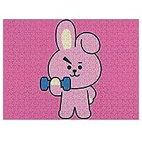 BTS防弾少年団/ぼうだんしょうねんだんジグソーパズル 300ピース500ピース1000ピース木製パズル 学生 子供 大人減圧のパズル 耐久性 キャラクター パズル おもちゃ 韓流 バンド 人気アイドル壁飾りK-POP Idol Korean 装飾品。