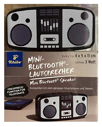 TCM Tchibo Mini Bluetooth Lautsprecher USB Portable Musik Station
