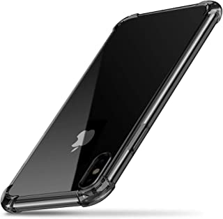UGREEN Case Compatible with iPhone Xs, iPhone X Case, Clear Slim Protective Anti-Scratch Shock Absorption Cover Transparen...
