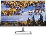 HP M27f 27-Inch(68.6cm) Eyesafe Certified Full HD IPS 3-Sided Micro-Edge Monitor, 75Hz, AMD Free Sync with 1xVGA, 2xHDMI 1.4 Ports, 300 nits(2H0N1AA), Silver (HP M27f FHD Monitor)