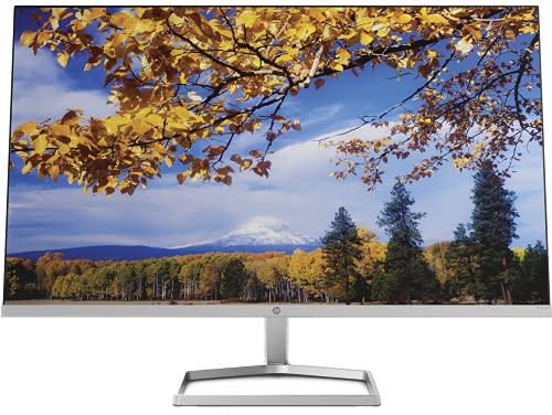 HP M27f 27-Inch(68.6cm) Eyesafe Certified Full HD IPS 3-Sided Micro-Edge Monitor, 75Hz, AMD Free Sync with 1xVGA, 2xHDMI 1.4 Ports, 300 nits(2H0N1AA)