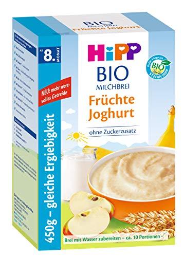 Hipp biologische melkfruit fruityoghurt, 2-pack (2 x 450 g)