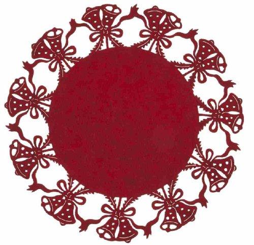 Clayre und Eef FE040.002MR FE040.002 (Ø 35 cm Rot)