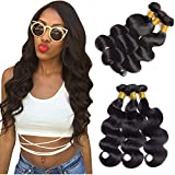 Dai Weier Brazilian Body Wave Hair 3 Bundles 100 Silky Grade 9a 300g Virgin Remy Real Human Hair Weave On Prime For Black Women 10 12 14 Inches