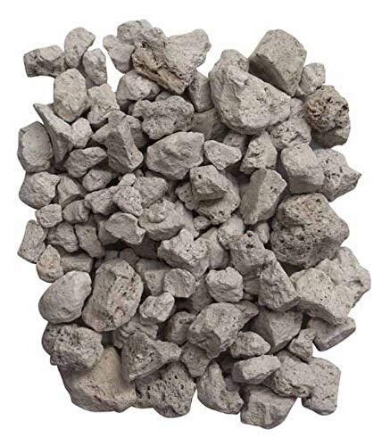 Gardeco PUMICE-4L 4L Lava Stones Bag - White