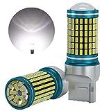 LUMENEX T20 LED Lampadine W21W 7443 7440 7441 144SMD Auto Retromarcia Invertendo La Luce Girare Segnale Freno Parcheggio Luci Posteriori Fanale Di Arresto Di Coda 12-24V(Senza CANBUS)