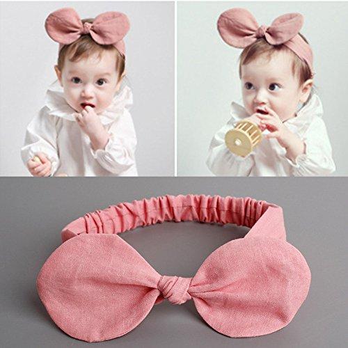 Emfay赤ちゃんベビーヘアバンドヘアリボン髪飾り髪留めカチューシャヘアアクセサリー出産祝い誕生日初節句5点セット