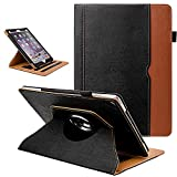 Grifobes Rotating Case for iPad 8th Generation / iPad 7th Generation,180 Degree Rotating Stand Smart Protective Case with Auto Wake/Sleep for iPad 10.2 inch 2020/2019,Black