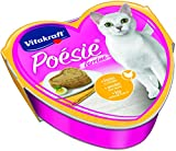 Vitakraft Poésie Katzenfutter, Nassfutter, Huhn in Ei, 15 x 85g