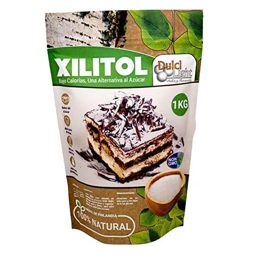 Xilitol 100% Natural Ecologico 1Kg Azucar de Abedul de Finlandia | Ideal...