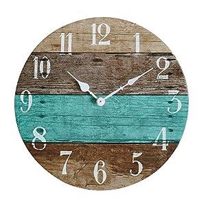 51EzsRmrPIL._SS300_ Coastal Wall Clocks & Beach Wall Clocks