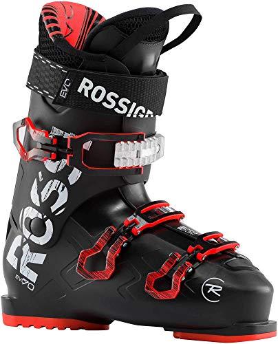 Rossignol Evo 70 Chaussures de Ski Unisexe pour Adulte Noir/Rouge