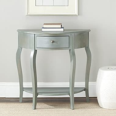 Safavieh American Homes Collection Jan French Grey Demilune Console Table