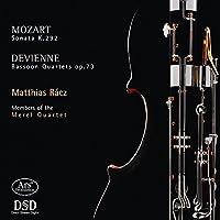 Mozart: Bassoon Sonata - Devienne: Bassoon Quartets by Members of the Merel Quartet