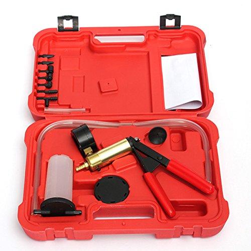MASUNN Hand Held Rembloeder Tester Set Bloed Kit Stofzuiger Pomp Vloeistof Reservoir Tester