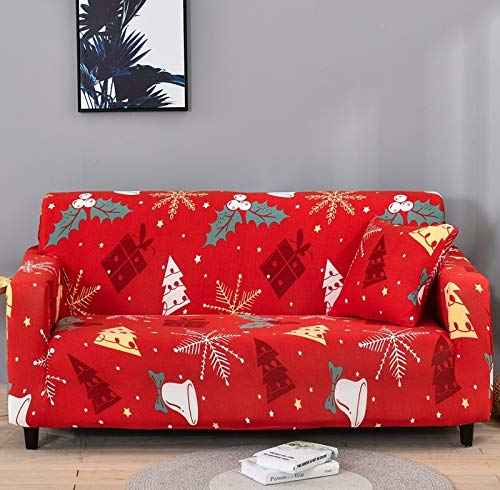 ASCV Floral sofa protector sofa covers for living room elastic stretch slipcover sectional corner sofa covers A9 4 seater
