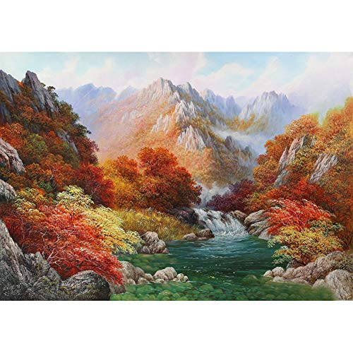 DIY 5D Tree Diamond Painting Kits for Adult, Casual Digital Painting Full Drill Combination- Arts and Crafts Indoor Wall Decorations(Nature)