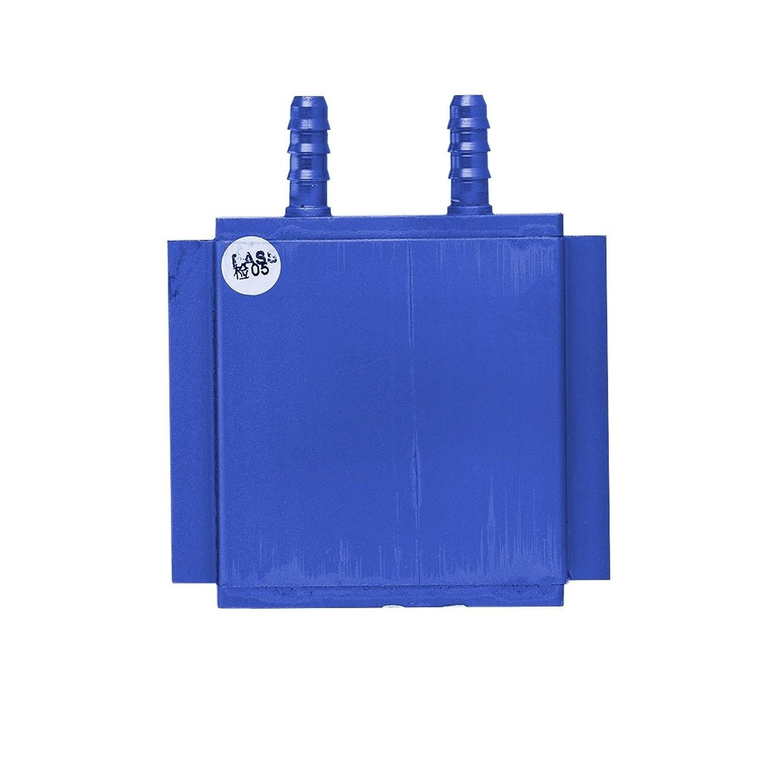 Bewinner Water Cooling Block for Heat Reducing 7.5mm Nozzle Aluminum Water Cooling Heatsink Block PC CPU North/South Bridge Cooler 74 x 68MM for Liquid Water Cooler Heat Sink System