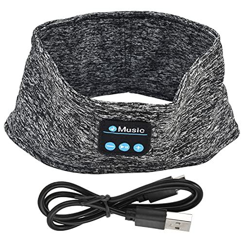 Deror Schlafkopfhörer Drahtlose Bluetooth Musik Sport Stirnband Noise Cancelling Schlaf Augenmaske, Mind Band Ideal für Seitenschläfer Laufen Yoga Schlaflosigkeit Reisen, Geschenk für Männer Frauen