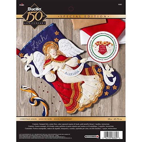 Bucilla Christmas Angel Stocking Kit