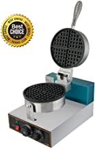 Professional Waffle Maker,vinmax Commercial Waffle Maker Waffle Maker Rotated Nonstick Electric Egg Cake Oven Puff Bread Maker (Shipping from US), 110V