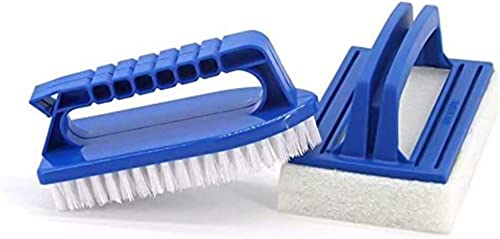 Lifreer Kit d'accessoires de nettoyage pour jacuzzi comprenant une brosse à récurer, une brosse de nettoyage pour les...
