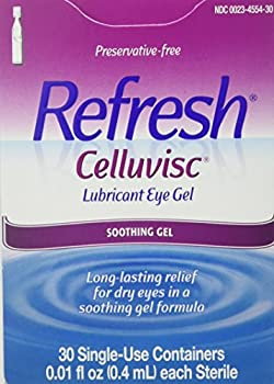 REFRESH CELLUVISC Lubricant Eye Gel Single-Use Containers 30 ea  Pack of 2