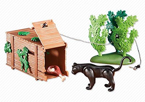 PLAYMOBIL 6422 Wild Life - Lebendfalle mit Panther (Folienverpackung)