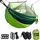 Hieha Double & Single Camping Hammock with Mosquito Net...