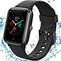 [2020 Latest] High-End Fitness Trackers,Health Sports Smart Watch with Heart Rate & Sleep Monitor,Calorie Step...