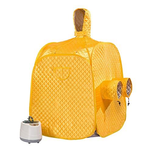 Yxx max Machine de Fumigation multifonctionnelle de boîte de Sauna de Sueur de Sueur de Pleine Lune de Sauna de Vapeur de Pliage (Couleur : B)