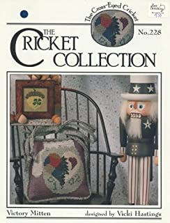 Victory Mitten (Cross Stitch) The Cricket Collection No. 228 (The Cross-eyed Cricket No. 228)