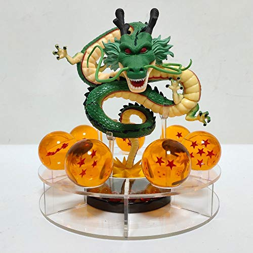 xstorex Dragon Ball Z Shenron PVC Actionfiguren Modell Spielzeug Anime Dragon Ball Super Shenlong Figur Kristallkugeln Esferas Del Dragon
