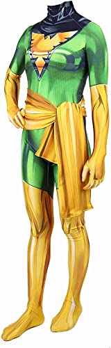 WEGCJU X-Hommes Phoenix Girl Cosplay Costume Body Combinaisons Tenue Adulte Enfant HalFaibleeen Film Scène De Perforhommece Props DéguiseHommest,Enfants-XL