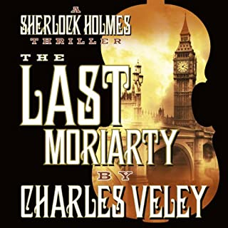 The Last Moriarty audiobook cover art