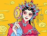2000個の大人の教育玩具ゲーム北京オペラHuadanパズル愛好家のモダンな創造的な装飾ギフト