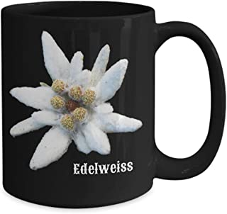 Edelweiss Gift Coffee Mug Tea Cup Flower Germany Oktoberfest European Alps Swiss Switzerland Austria Alpine Star Souvenir