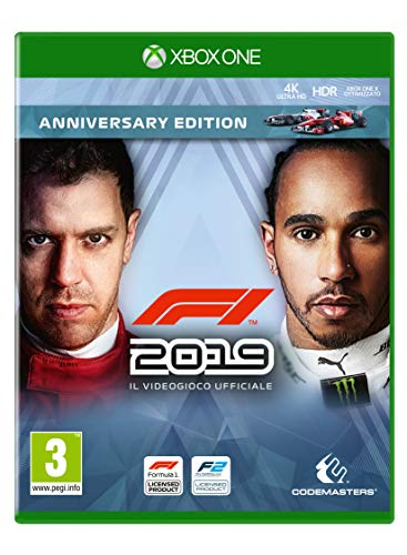 F1 2019 Anniversary Ed. - Day-One - Xbox One