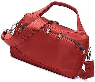 Good feeling zm Handtaschen Im Freien Wilde Beiläufige Nylonhandtasche Große Kapazität Reisetasche Segeltuch Oxford Tuch Schulter Kuriertasche Rot